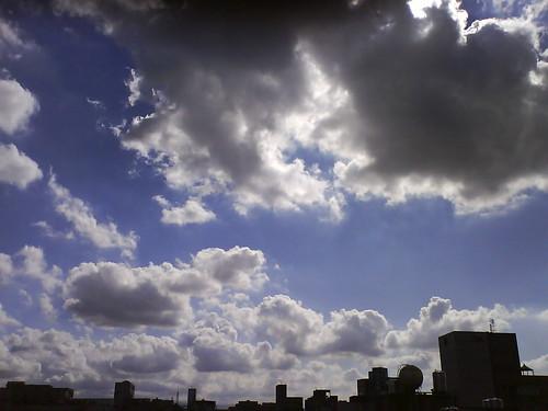 今日的雲相當立體