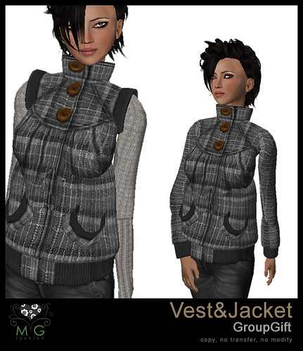 [MG fashion] Vest&Jacket (GroupGift)