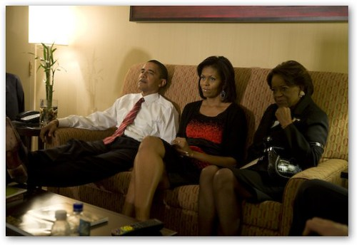 Obama: Minutes Before Victory