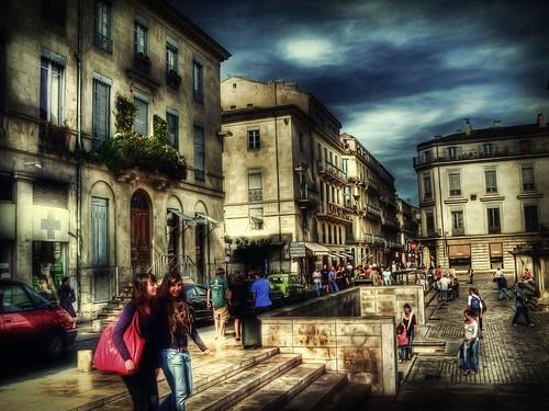 Nimes,France HDR by NikolaT.