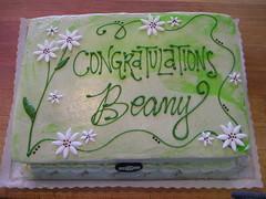 Congrats Beany