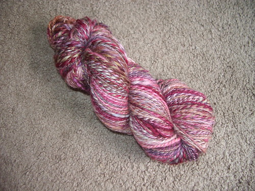 Funky Carolina BFL in Autumn Girl Double Plied