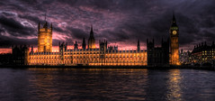 Westminster_Wide (alanwigg) Tags: london clock thames bigben hdr palaceofwestminster parliamentbuilding