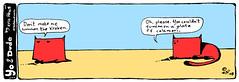 summon the kraken - yo & dude™ (eric Hews) Tags: dog cats cute dogs illustration cat puppy fun virginia puppies kitten funny eric artist comic drawing web yo humor cartoon emo creative kitty free kittens richmond dude writer comicstrip mean illustrator haha toon simple calamari kraken summon hews yodude erichewscom yoanddude ©2008erichews yodude™ ennuizle