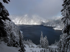 first-view-of-snow-lake