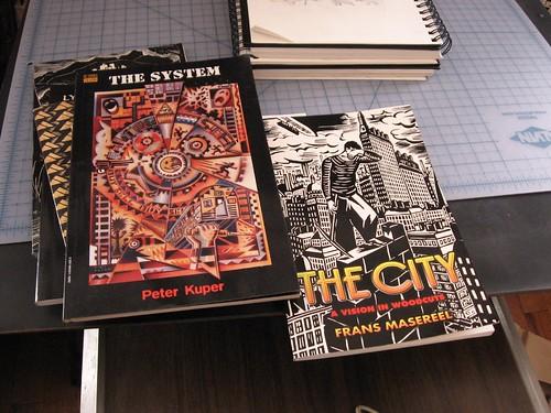 IMG_8818 graphic novels belonging to Joe Boruchow