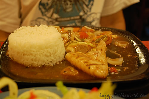 Kuls Kitchen Cebu - Sizzling Calamari at PhP 135.00
