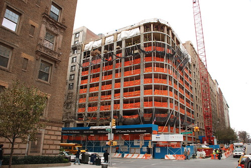 535 West End Avenue Under Construction by Jeff French Segall