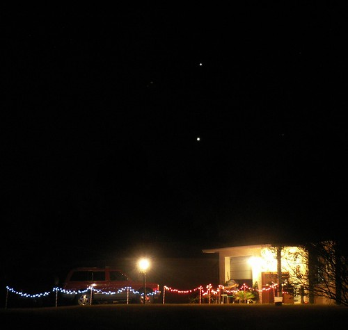 Jupiter and Venus, 27 Nov. 2008