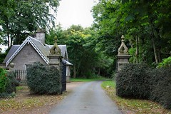 Udny Castle - gate lodge