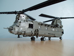 CH-47D Chinook (1) (Mad physicist) Tags: army lego military helicopter boeing chinook usarmy ch47d