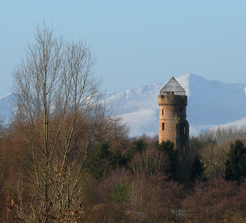 Eglinton tower and Arran 01Dec08
