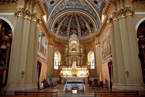 Interior Iglesia Nª Sª de la Candelaria de La Viña - Salta - Argentina by teoteco.