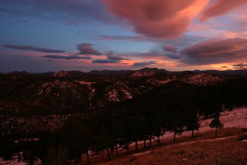 Sunset at Eagle Peak