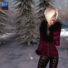 Gothicatz Stage 2 (Arcadia Nightfire) Tags: winter fashion avatar secondlife mdr tesla theabyss mdrstudio slfashionartphotography gothicatz arcadianightfire glamourazzi