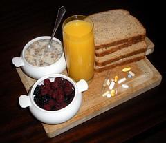 Transhumanist breakfast