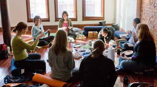 DC Namaste Knitters Meetup