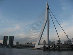 Rotterdam Erasmusbrug (Reinoudp) Tags: rotterdam brug maas erasmusbrug