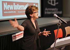 Ann Pettifor speaks at Clean Start event