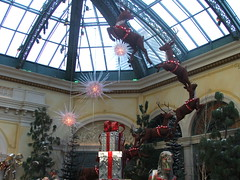 Bellagio Conservatory and Botanical Gardens - Holiday Show 2008 - Las Vegas