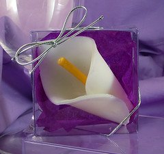 Calla Lily Soap Favor