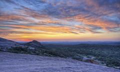 enchanted rock (richietown) Tags: topv111 rock sunrise canon topv333 texas fredericksburg hdr enchanted llano 30d sigma1020mm 3xp photomatix richietown