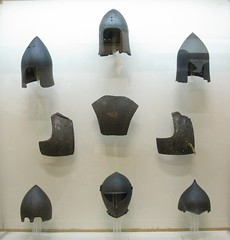 Helmets and body armour, National Historical Museum, Athens, Greece