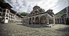The Monastery (ill-tempered [Jakov Cordina]) Tags: old panorama mountains nikon peace pano large structures peaceful monastery rila nikkor jakov 18200mm d90 illtempered cordina jakovcordina wwwjakovcordinacom