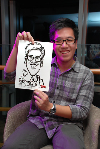 Caricature live sketching for TLC - 37