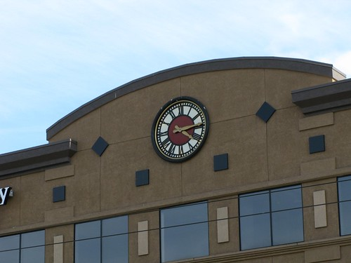Wallingford Plaza Facade Clock