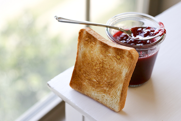 Homemade Bread & Jam
