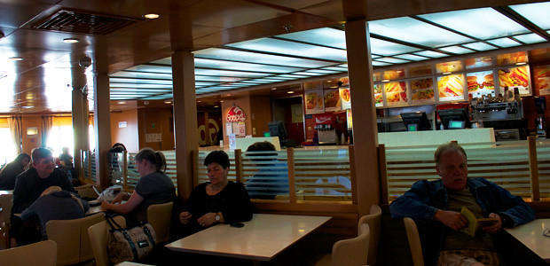 Restaurante Blue Star Ferries