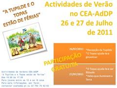 Actividades de FériasVerão2011_2º no CEA-AdDP