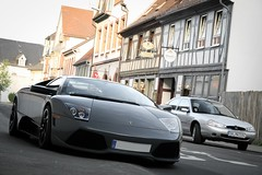 Lamborghini Murciélago LP 640 (LLeggera   photography) Tags: grigio lp batman batmobile lamborghini coupe dieburg murcielago 640 telesto