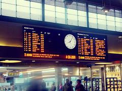 Don't Forget That Timetable. (Ggi D'Aquino) Tags: stazione timetable orari trenitalia treni portanuova tabellone