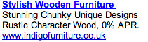 Wood Furniture - Ad #2
