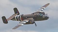 "IMG_EOS5D_1053A RAF North Amercian B-25D Mitchell Bomber G-BYDR/N25644/100-29644 ""Grumpy"" (briancarrollphotos) Tags: flying north airshow american legends duxford mitchell bomber grumpy raf iwm flyinglegends rafduxford b25d gbydrn2564410029644"
