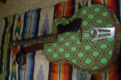Knit Guitar Case (Jonny Fritz) Tags: india art philadelphia freedom guitar knit case corndog bling let airbrush corndawg givson