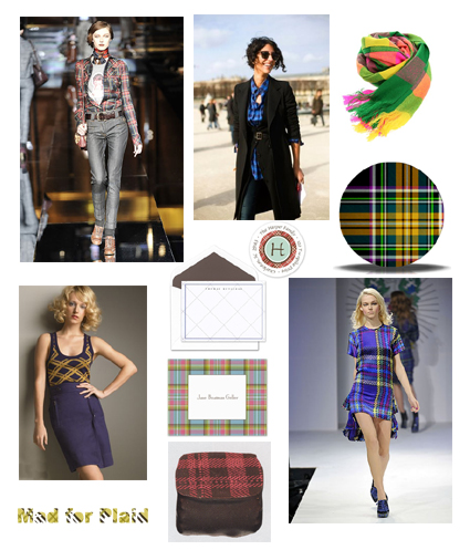Tuesday Trends: Mad for Plaid