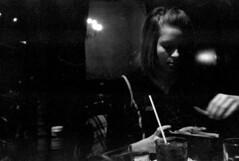 Lauren at Dinner