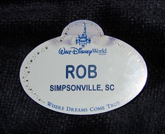 My Disney Nametag