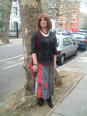 Hippy Chick Out And About