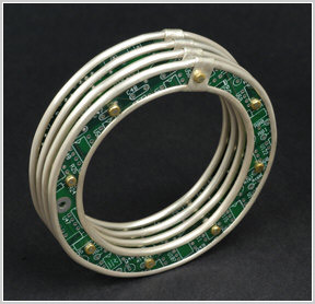 Circuit board and silver bracelet