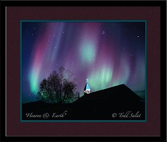 Heaven and Earth (AuroraHunter) Tags: church nature alaska lights purple eagle aurora northern northernlights auroraborealis borealis purpleaurora toddsalat aurorahuntercom