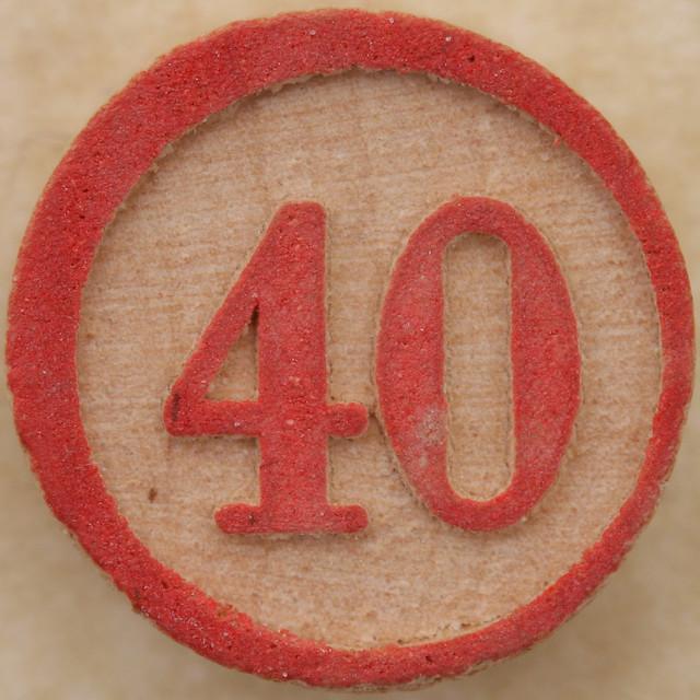 Bingo Number 40