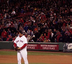 Papelbon and crowd