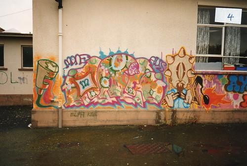 Mone & Neo graffiti