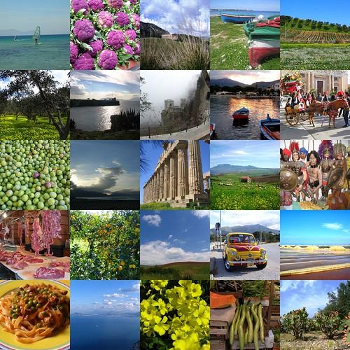 Sizilien in einem Fotoalbum