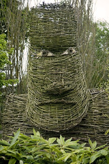 Wicker Face @ Sir Harold Hillier Gardens, Hampshire (Rob Young) Tags: face hampshire wicker 2008 hilliergardens sirharoldhilliergardens shhg
