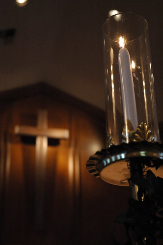 Candle+Cross